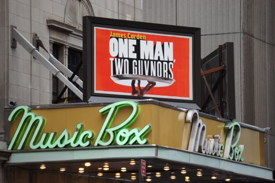 One Man Two Guvnors marquee.jpg