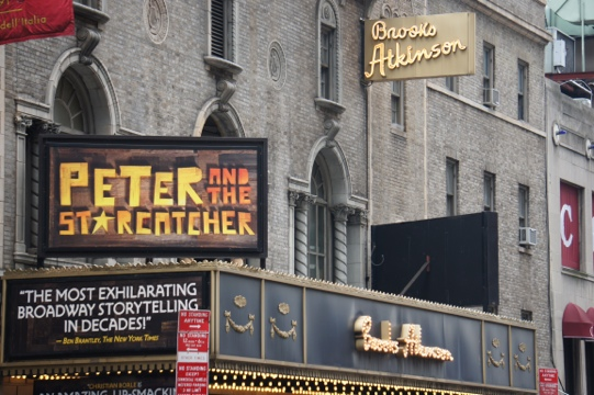 Peter and the Starcatcher marquee.jpg