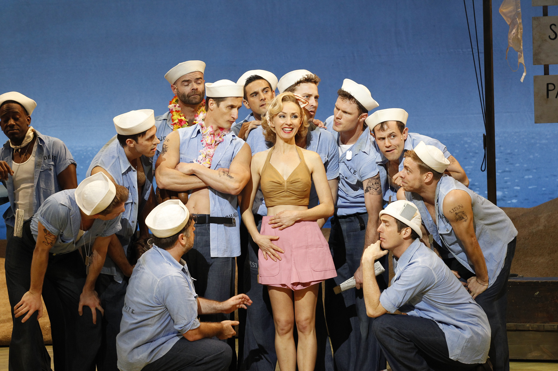 South Pacific Review Simon Parris Man In Chair