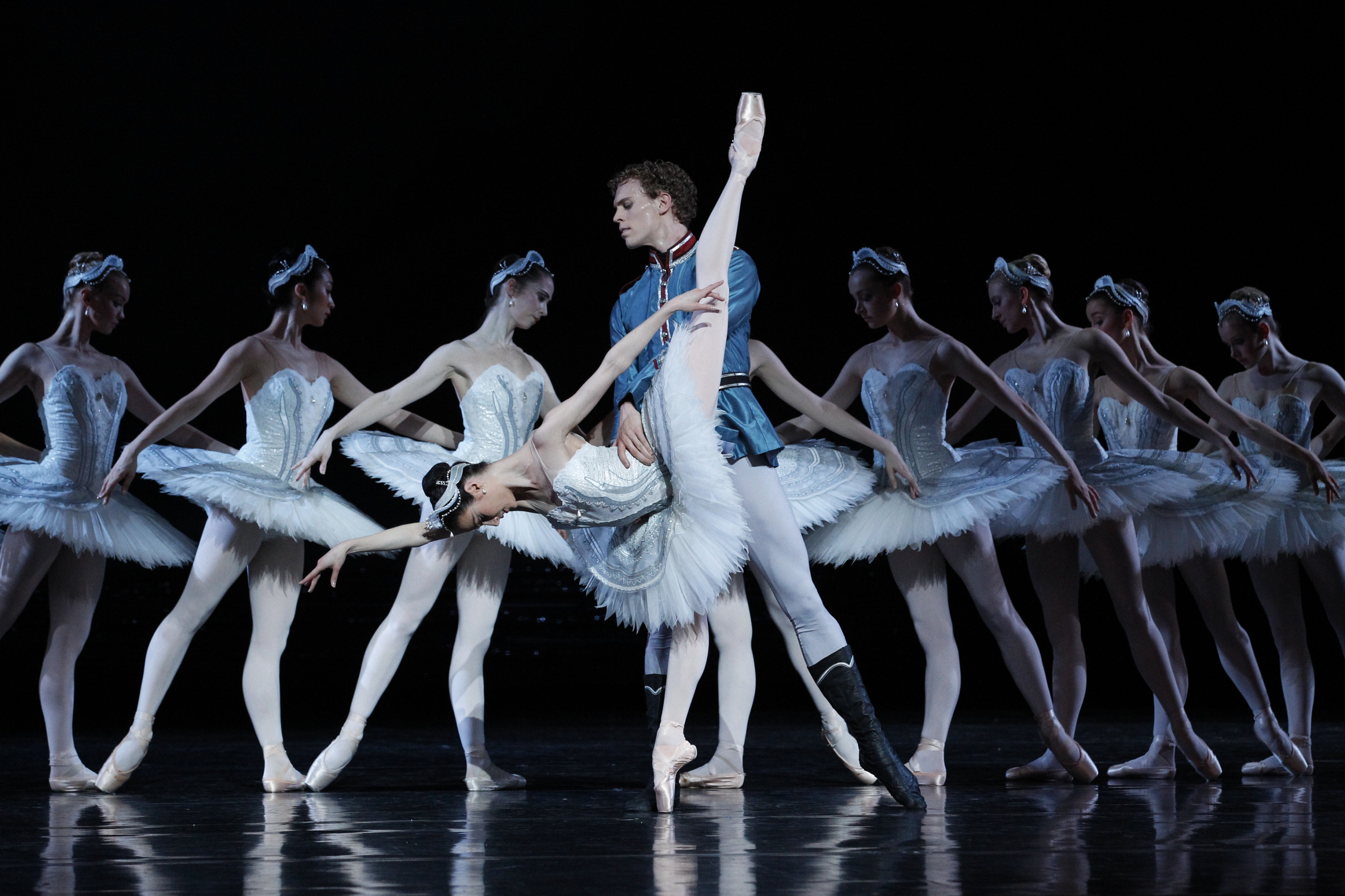 Music from swan lake