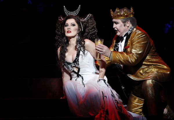 Cheryl Barker as Salome, John Pickering as Herod Opera Australia SALOME