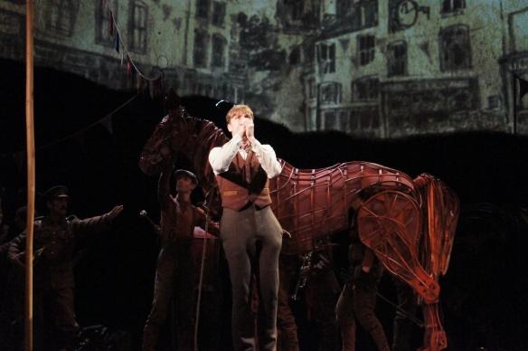 War Horse Australia Albert (Cody Fern) calls Joey