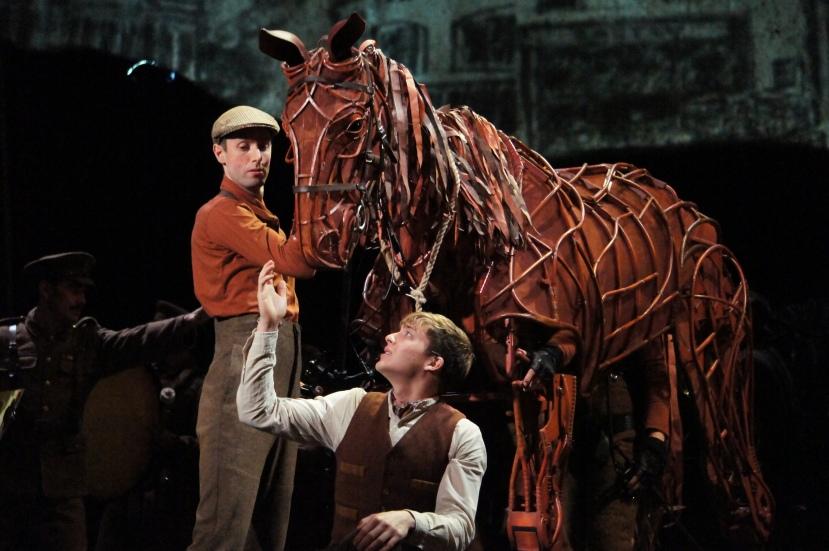 War Horse Australia Albert farewells Joey