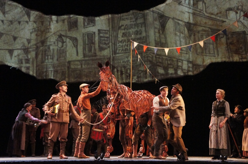 War Horse Australia Albert shattered