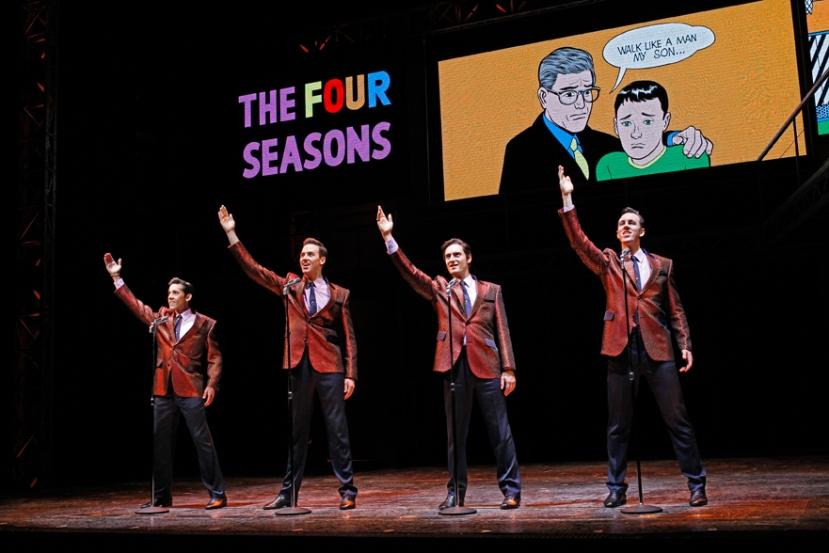 Jersey Boys 2013 Melbourne Four Seasons