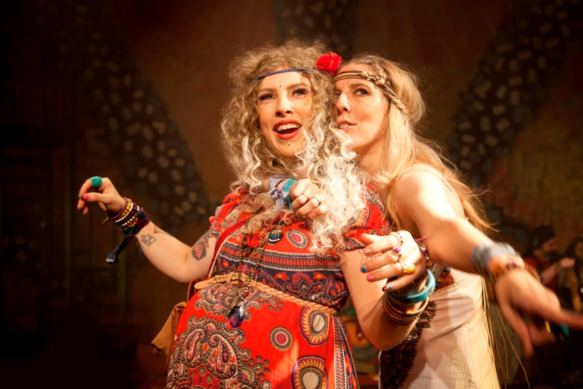 Jessica Barlow 'Jeanie', Renee Pope-Munroe 'Sheila' HAIR by StageArt