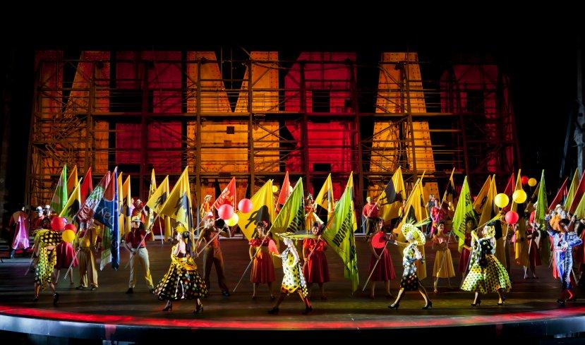 Carmen Handa Opera on Sydney Harbour company