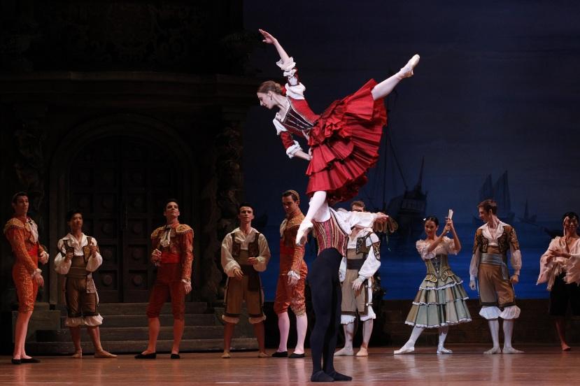 Daniel Gaudiello, Lana Jones, Don Quixote Australian Ballet 2013