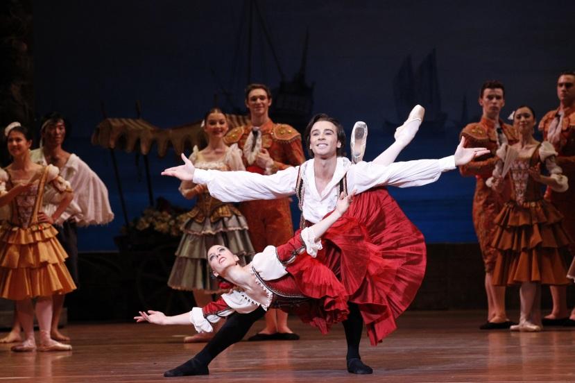 Lana Jones, Daniel Gaudiello, Don Quixote AUstralian Ballet 2013