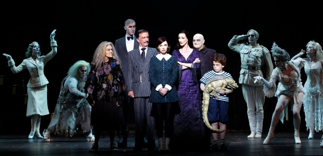 The Addams Family Australia cast