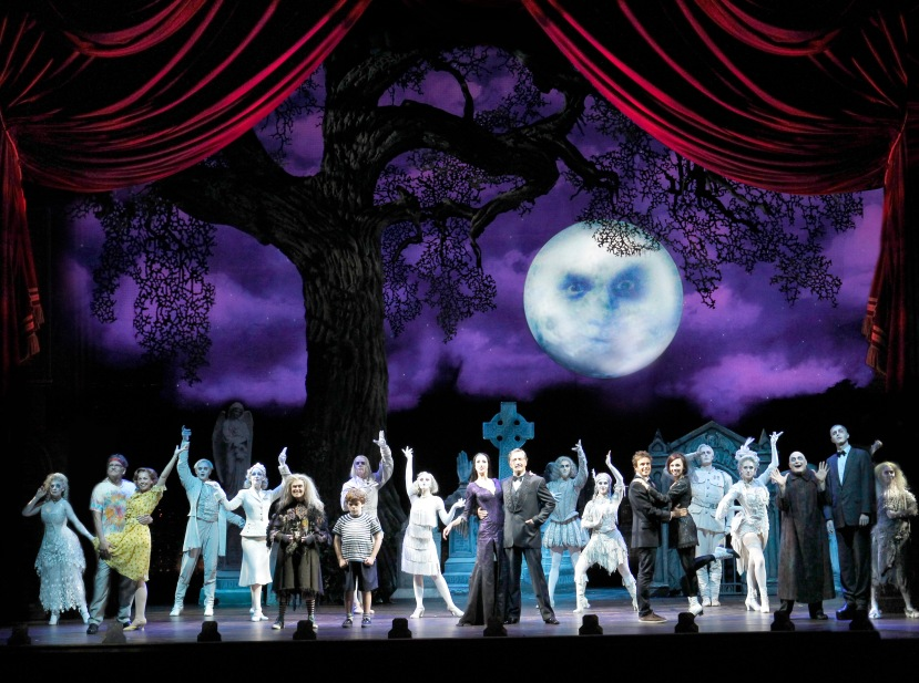 The Addams Family Australia full cast