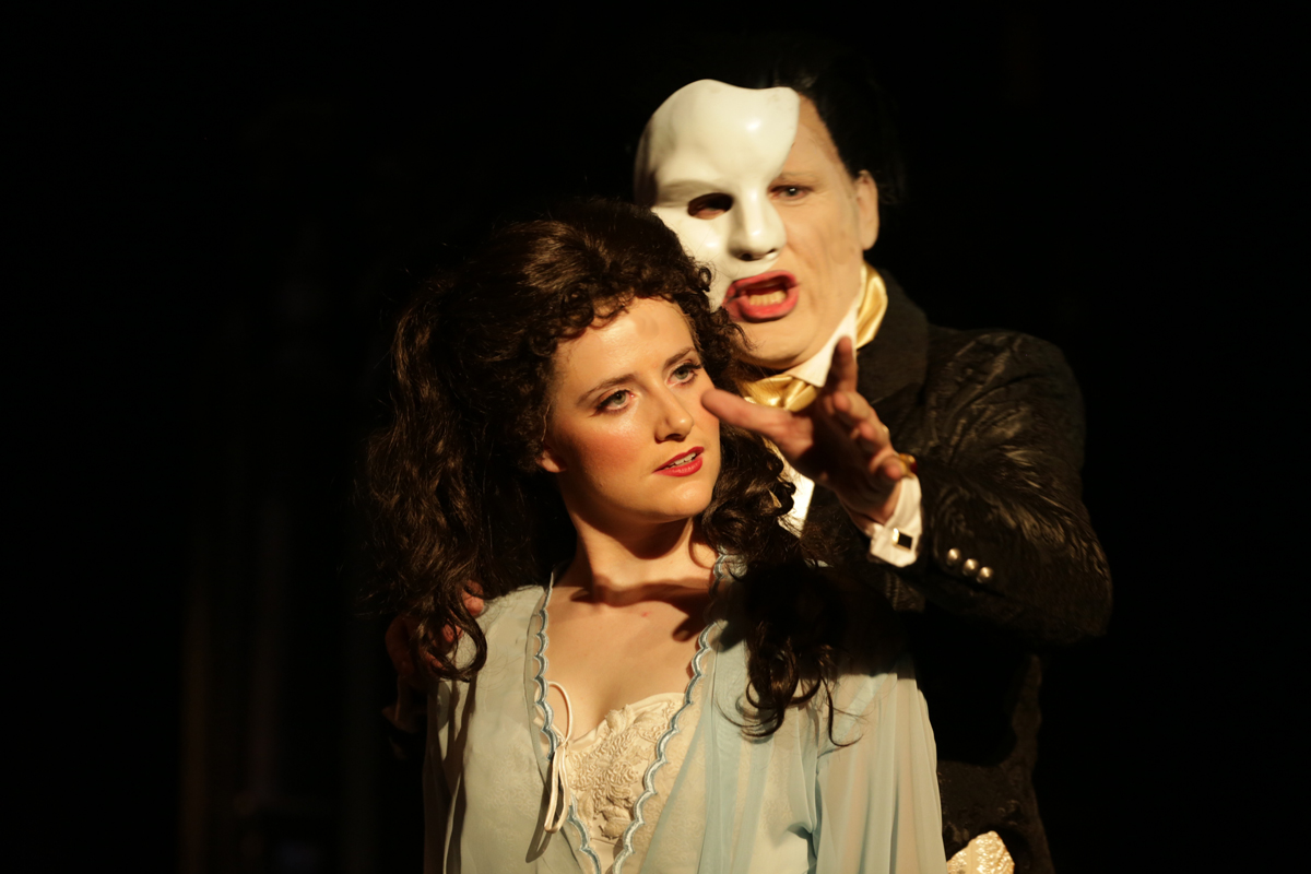 Cloc musical theatre the phantom of the opera review simon parris