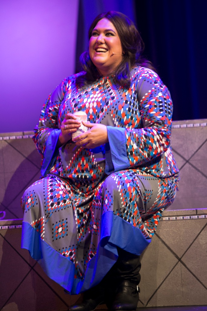 Flowerchildren Casey Donovan as Mama Cass