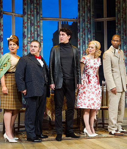One Man Two Guvnors cast Melbourne