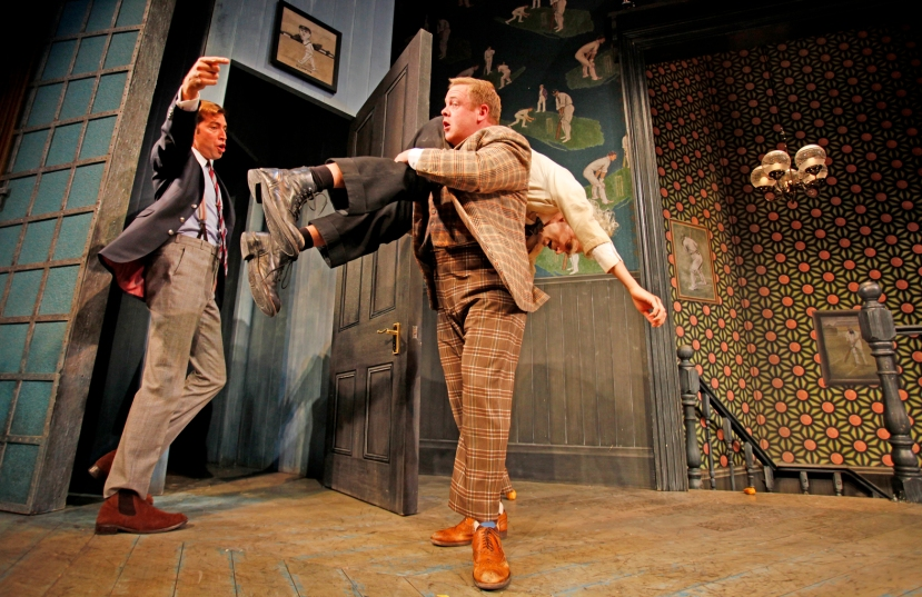 One Man Two Guvnors Owain Arthur Melbourne