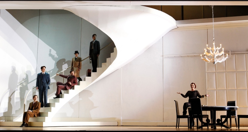 Opera Australia Partenope Field, Carby, Anderson, Lambourne, Breen, Matthews