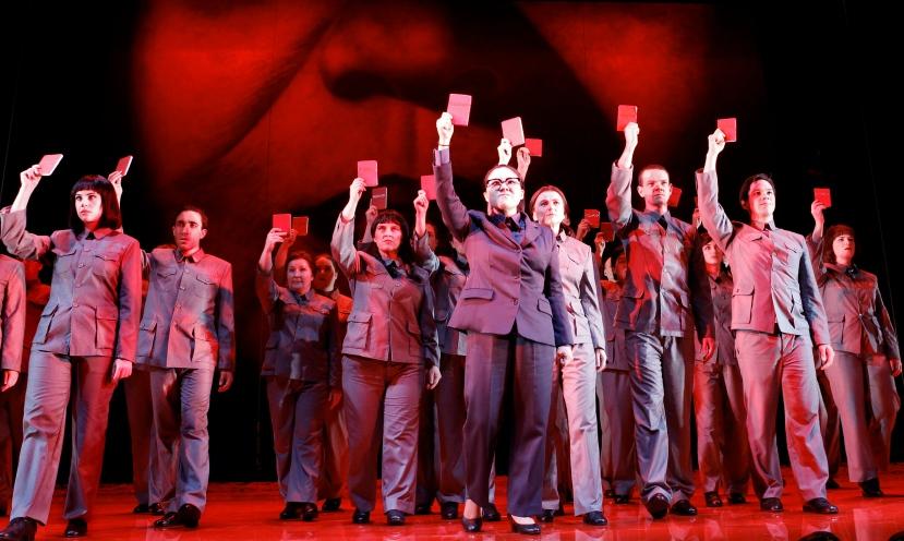 Victorian Opera NIXON IN CHINA ensemble