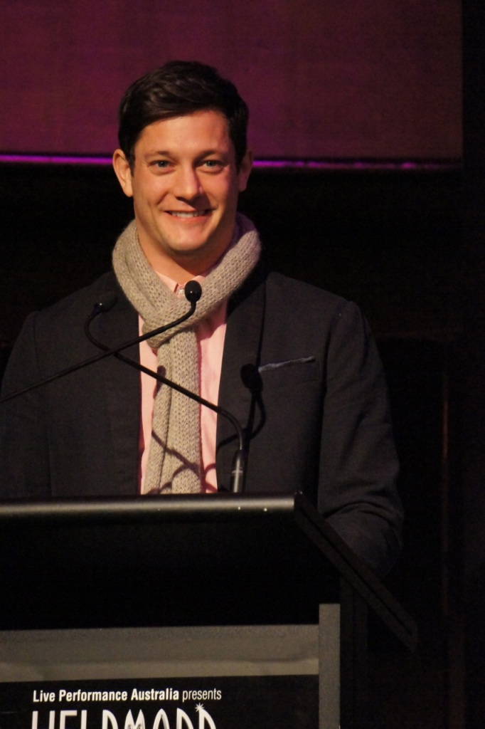 2013 Helpmann nominations Melbourne Rob Mills