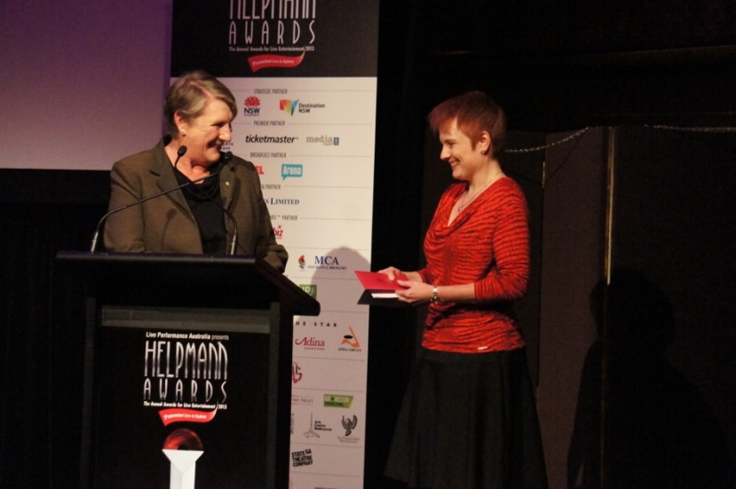 2013 Helpmann nominations Melbourne Sue Nattrass, Carolyn Watson
