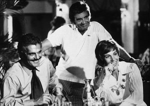 Omar Sharif, Blake Edwards, Julie Andrews