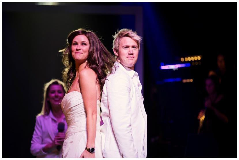Shane Warne the Musical Hamer Hall Melbourne 2013 Christie Whelan, Eddie Perfect