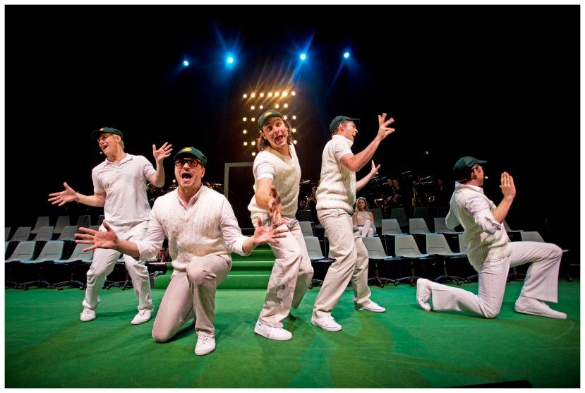 Shane Warne the Musical Hamer Hall Melbourne 2013 Male cast