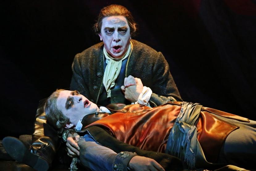 Opera Australia The Force of Destiny Jonathan Summers, Richard Massi
