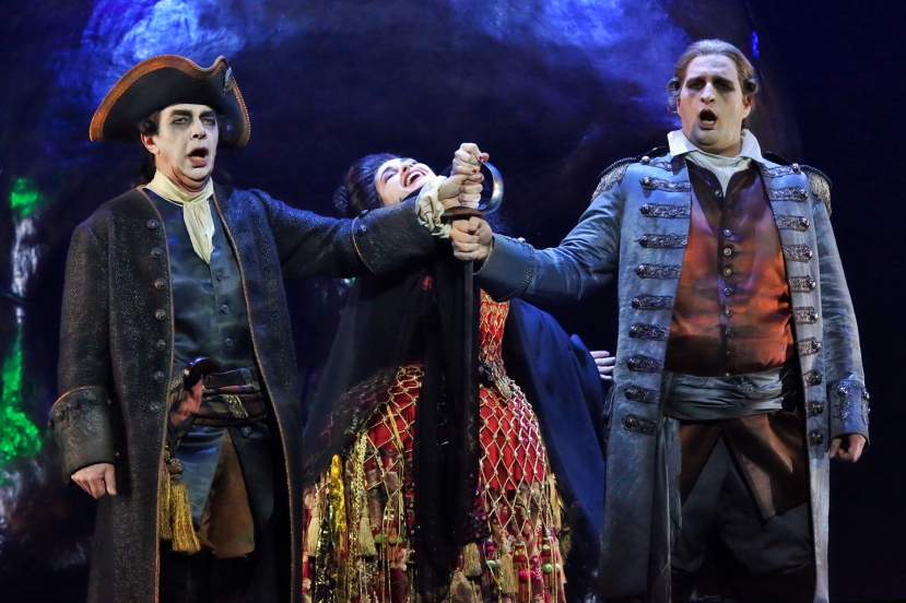 Opera Australia The Force of Destiny Jonathan Summers, Rinat Shaham, Riccardo Massi