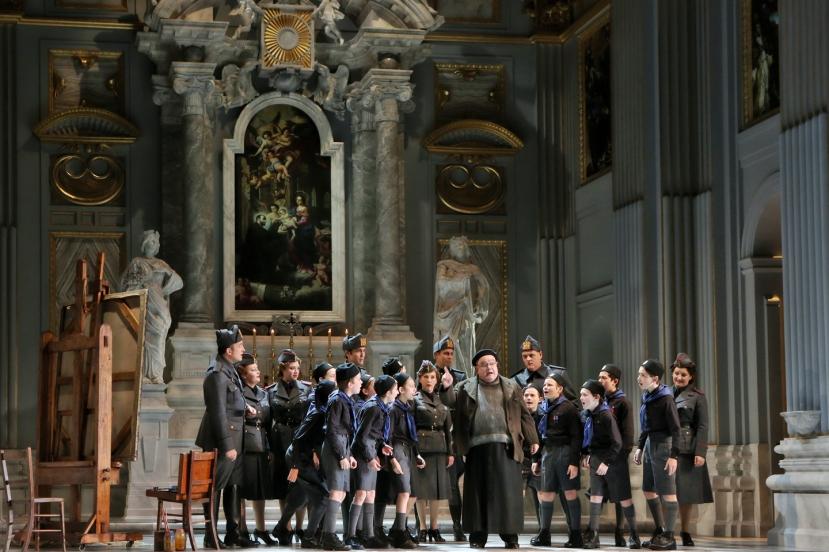 Opera Australia Tosca 2013 John Bolton Wood