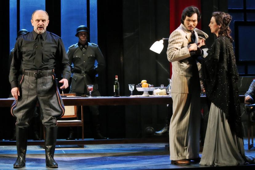 Opera Australia Tosca 2013 John Wegner, Yonghoon Lee, Alexia Voulgaridou