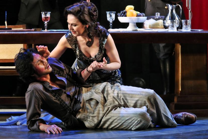 Opera Australia Tosca 2013 Yonghoon Lee and Alexia Voulgaridou