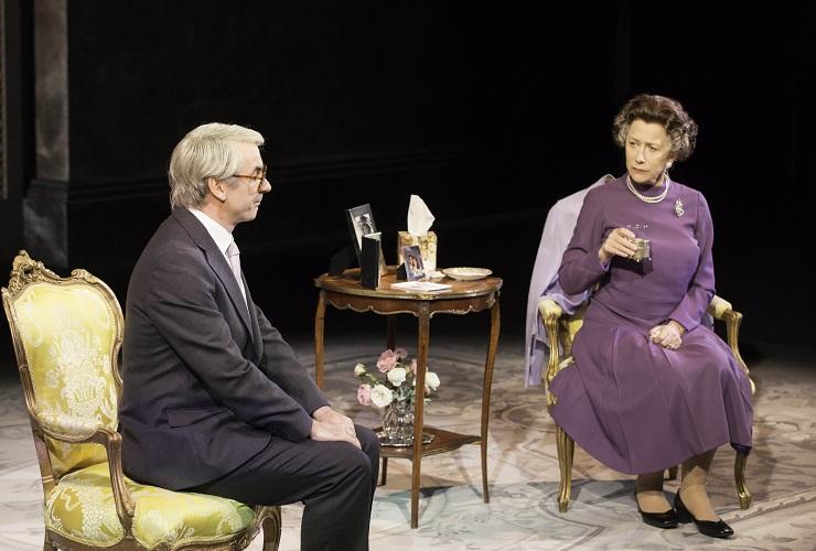 THE AUDIENCE Paul Ritter as John Major, Helen Mirren as Queen Elizabeth II