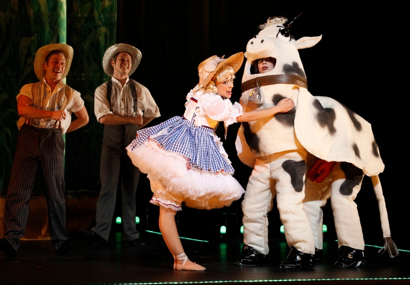The Production Company GYPSY Gemma-Ashley Kaplan, Caroline the moo cow