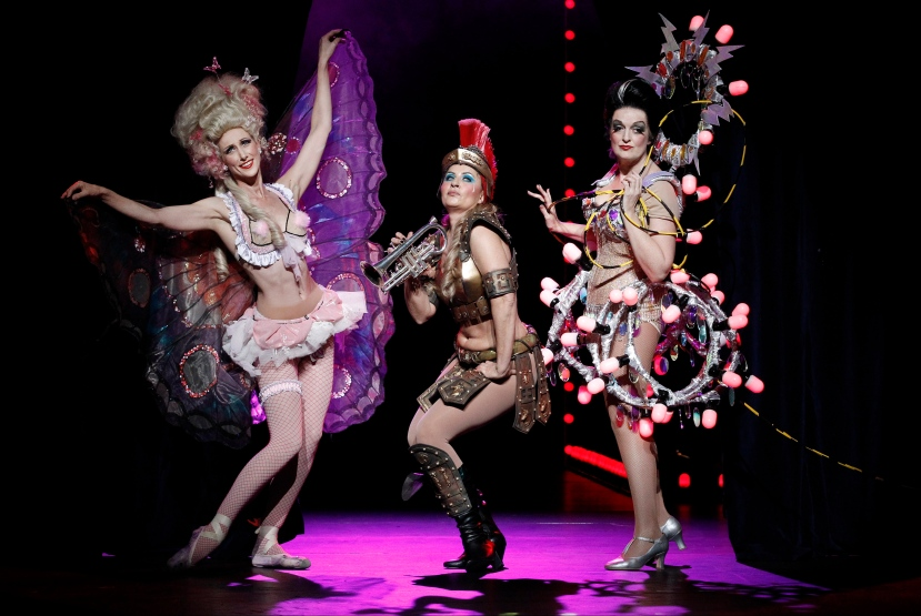 The Production Company GYPSY strippers Chloe Dallimore, Nicki Wendt, Anne Wood
