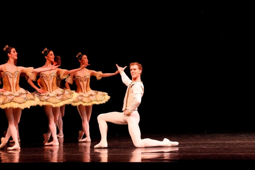 Adam Bull, The Australian Ballet, La Sylphide, Paquita, 2013