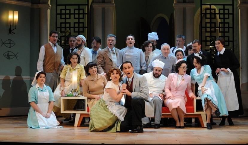 Don Pasquale Opera Australia chorus