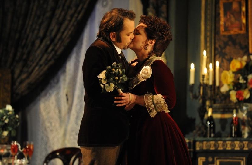 La Traviata Opera Australia Arnold Rutkowski and Emma Matthews