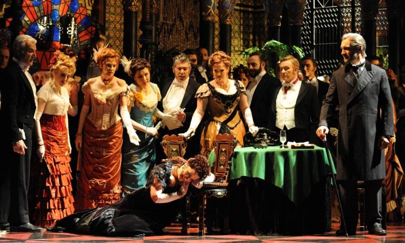 La Traviata Opera Australia Dominica Matthews, Michael Honeyman, Jose Carbo, Emma Matthews