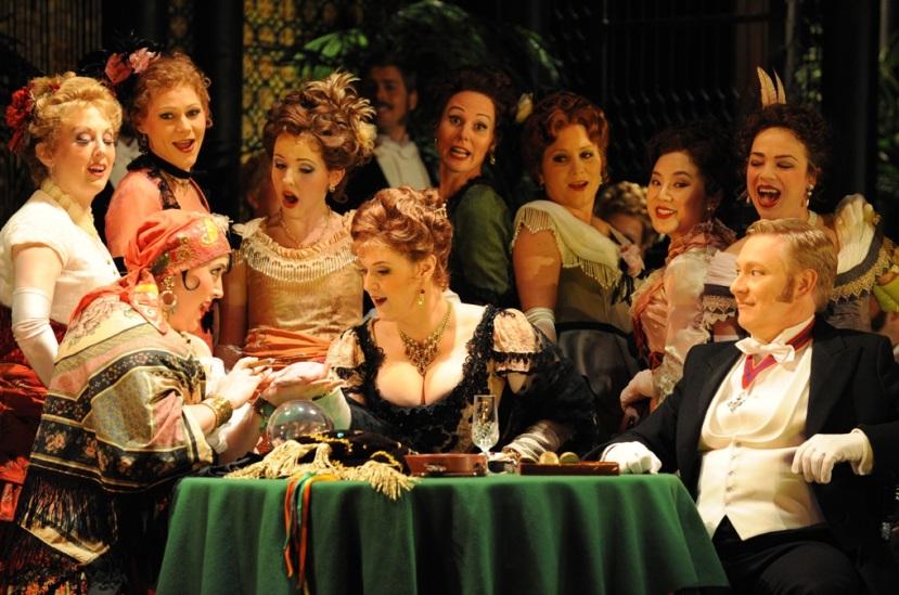 La Traviata Opera Australia gypsy party scene Dominica Matthews