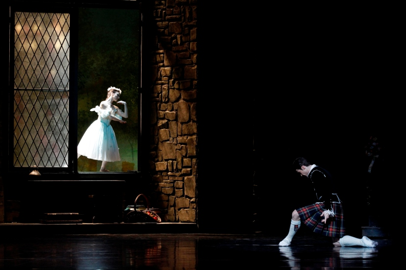 Madeleine Eastoe and Daniel Gaudiello, The Australian Ballet, La Sylphide 2013