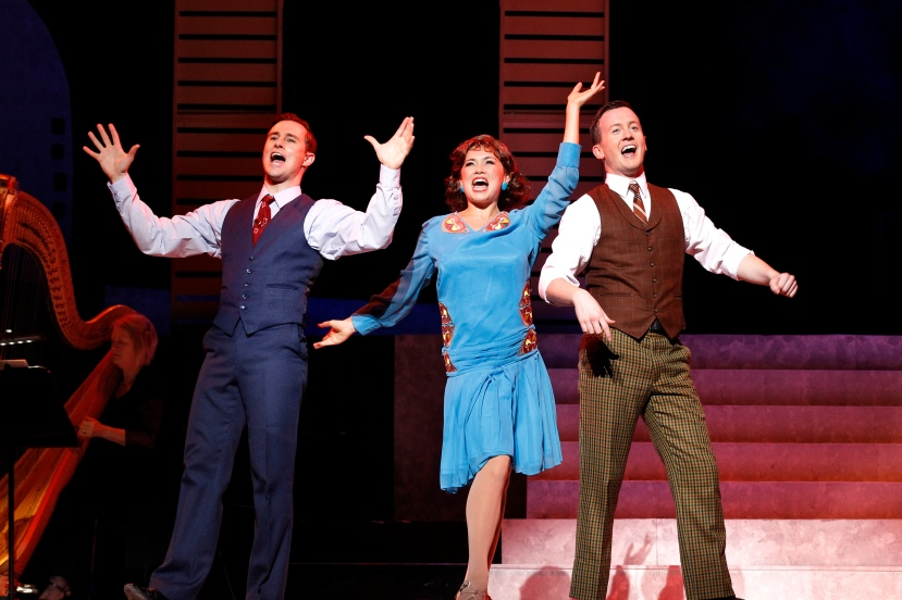 Singin in the Rain, The Production Company, Rohan Browne, Alinta Chidzey, Matt Lee