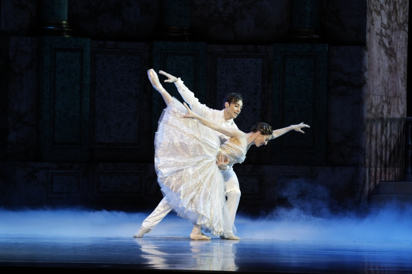 Leanne Stojmenov, Daniel Gaudiello, The Australian Ballet Cinderella, 2013