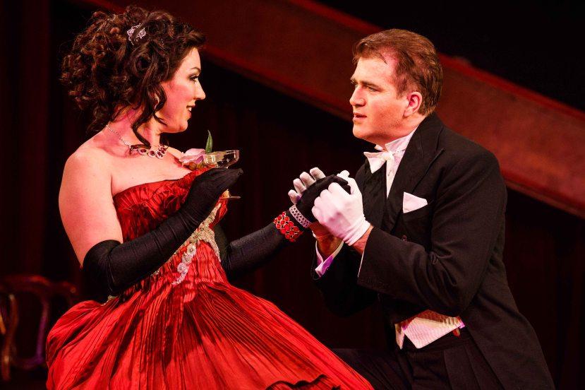 Melbourne Opera La Traviata 2013 Antoinette Halloran as Violetta, Roy Best as Alfredo