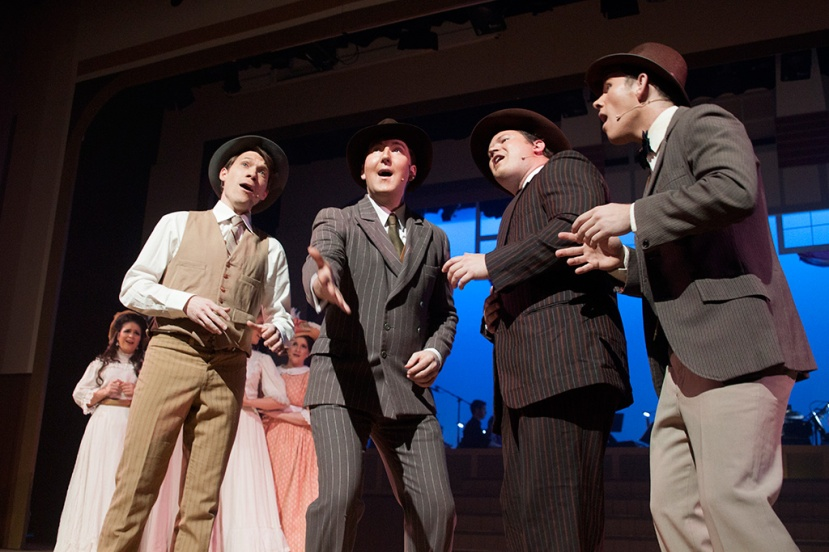 OSMaD The Music Man, Barbershop Quartet