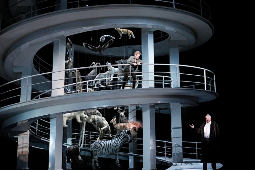 Melbourne Ring Cycle, Opera Australia 2013 Die Walkure, Brunnhilde, Wotan in Valhalla
