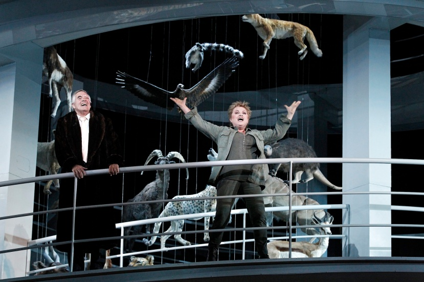 Melbourne Ring Cycle, Opera Australia 2013 Die Walkure, Terje Stensvold as Wotan, Susan Bullock as Brunnilde