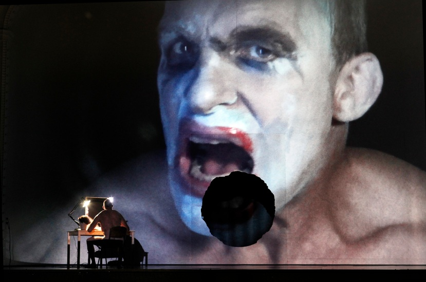 Melbourne Ring Cycle, Opera Australia 2013 Siegfried, Jud Arthur as Fafner