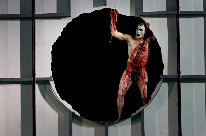 Melbourne Ring Cycle, Opera Australia 2013 Siegfried, the dragon