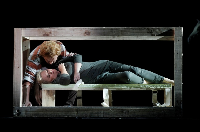 Melbourne Ring Cycle, Opera Australia 2013 Siegfried with Susan Bullock as Brunnhilde
