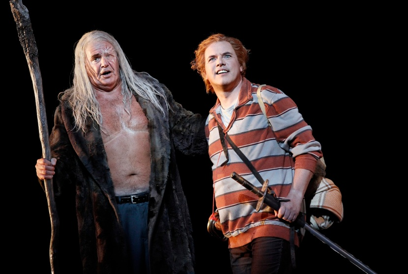 Melbourne Ring Cycle, Opera Australia 2013 Siegfried, Wotan and Siegfried